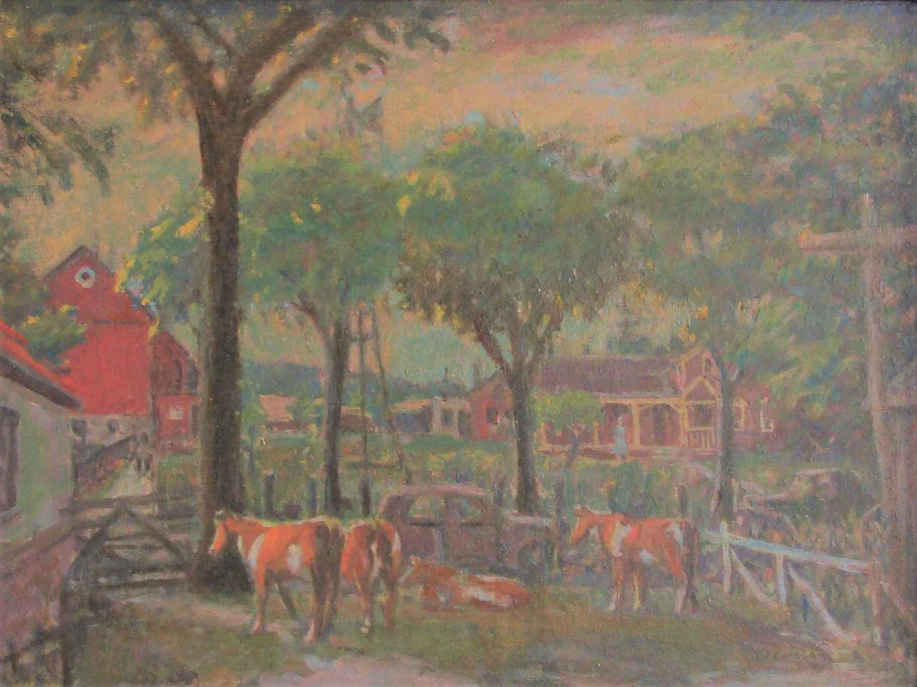 Farm in the Country by Mr. Gerrit Sinclair - Masterpiece Online