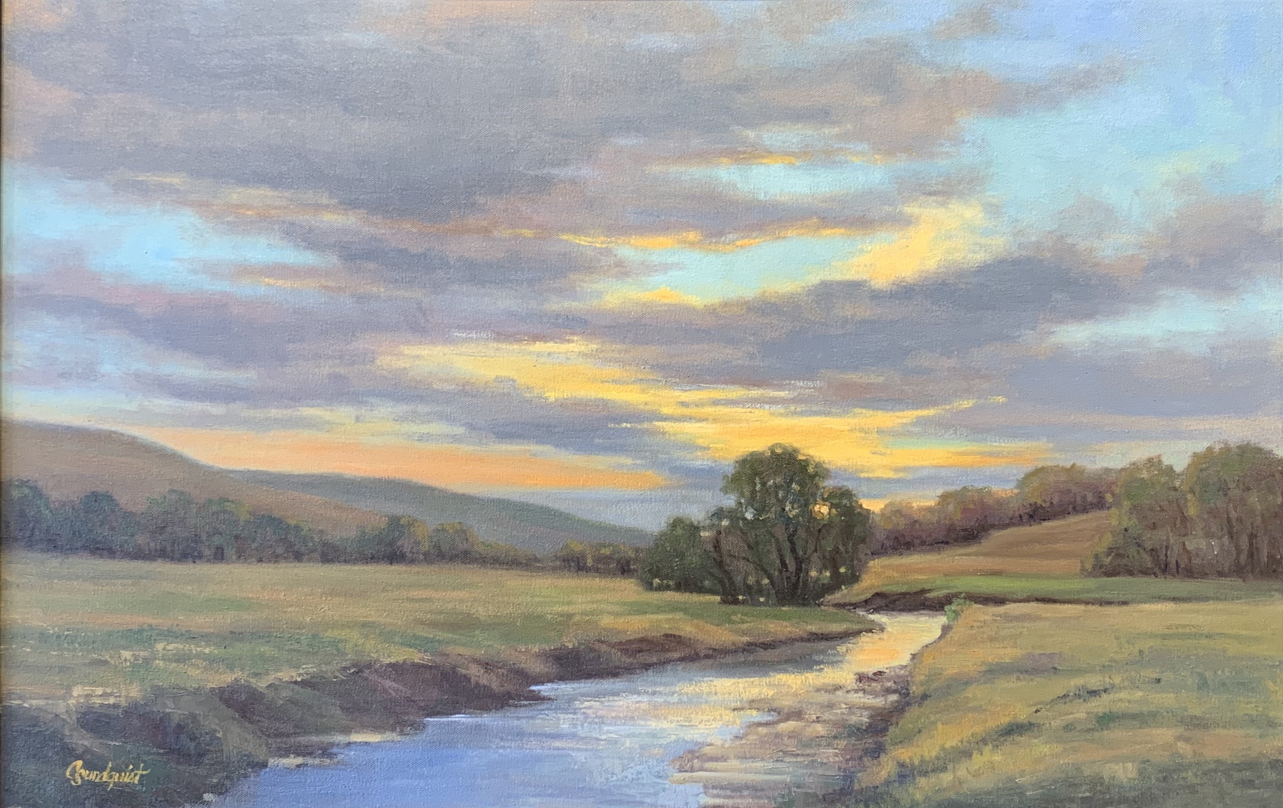 Deep Creek Sunrise by  Cristine Sundquist - Masterpiece Online