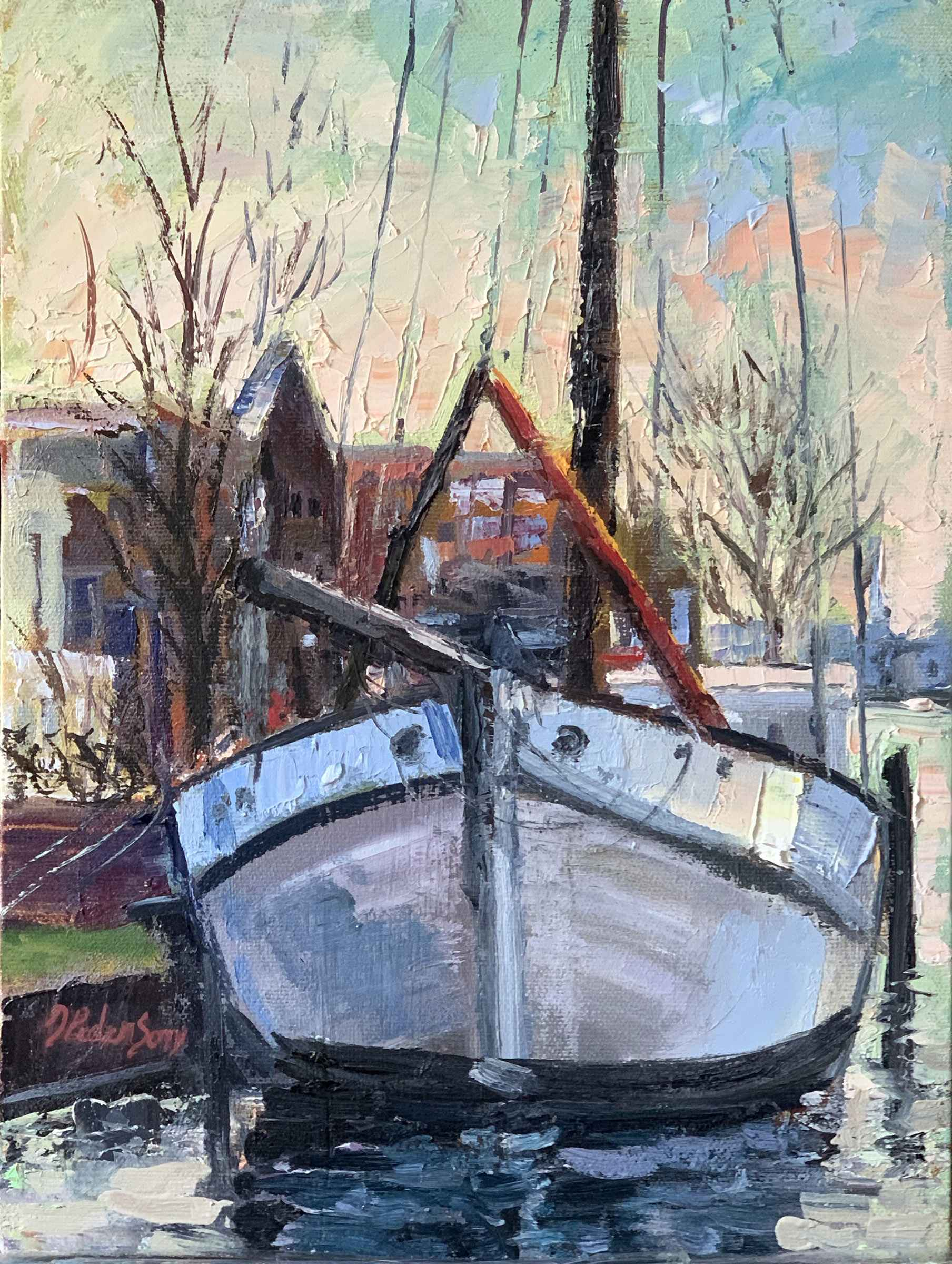Fishing Boat, Delft, ...  by  Doloris Pederson