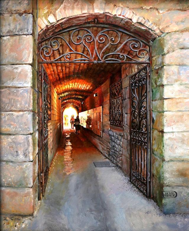 Tunnel Vision by  Debra Keirce - Masterpiece Online