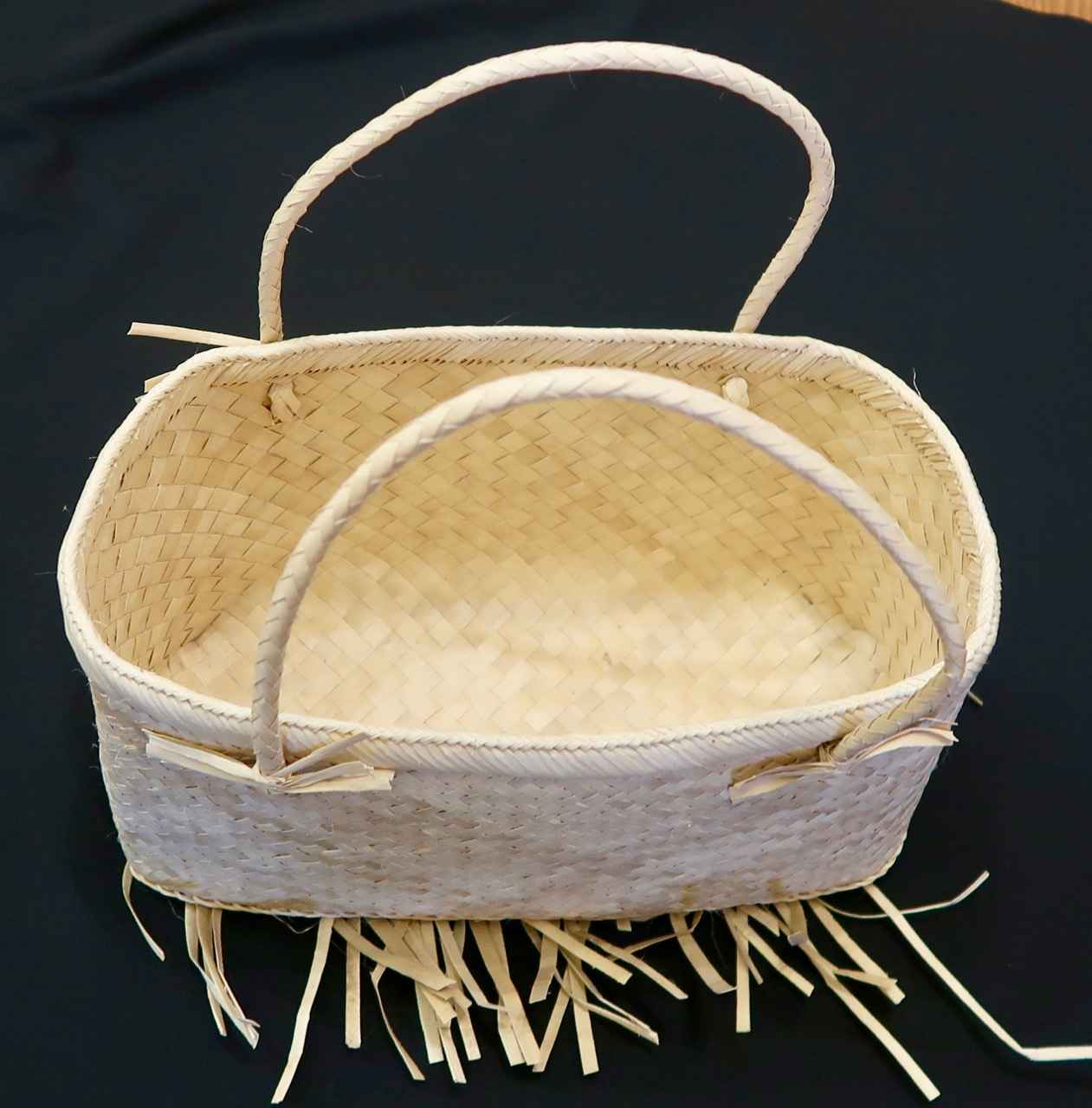 Woven Purse, Two Hand... by  Unknown Unknown - Masterpiece Online