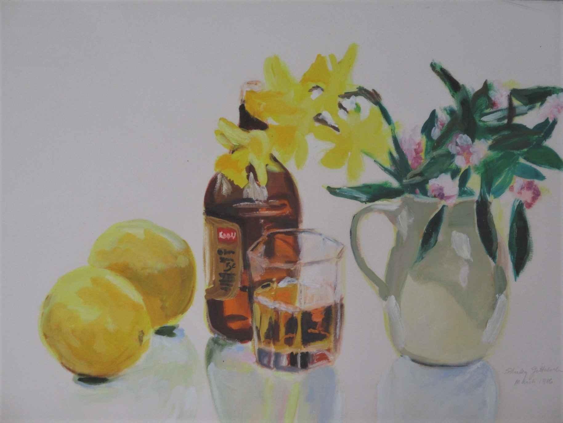 Untitled ( 2 lemons) by  Shirley Gittelsohn - Masterpiece Online