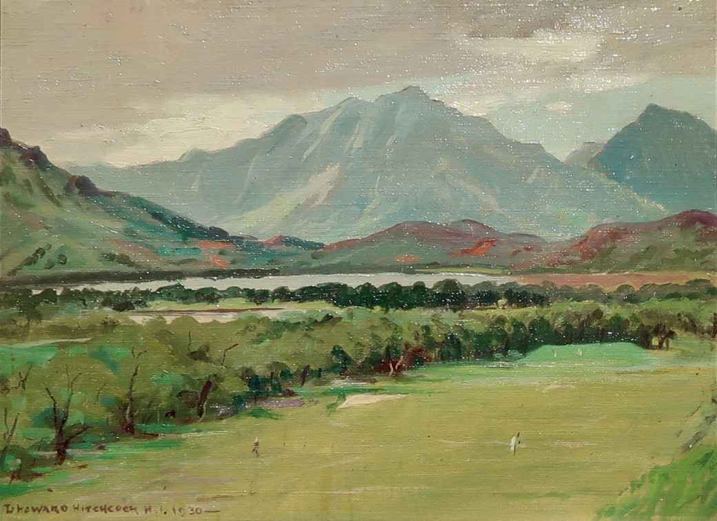 Mid Pacific Country C... by  David Howard Hitchcock (1861-1943) - Masterpiece Online