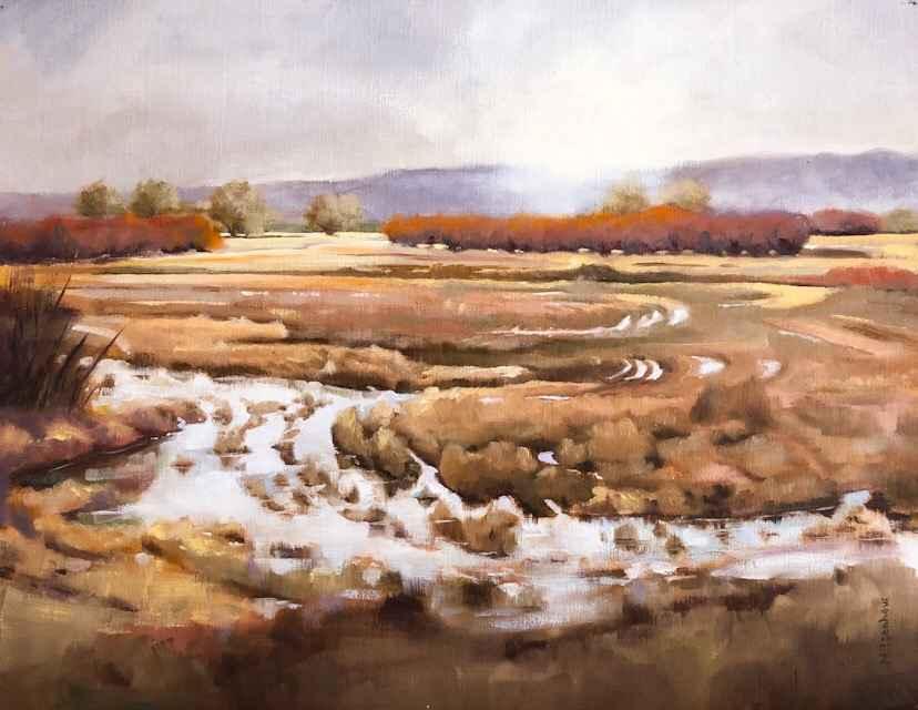 Flooding the Wetland by  Natasha Isenhour - Masterpiece Online