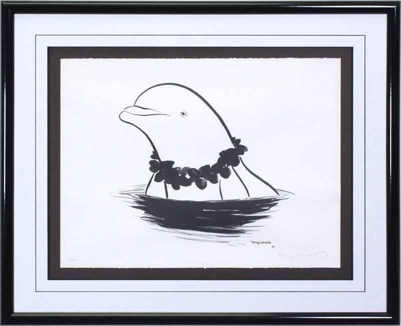 Aloha Dolphin by  Robert Wyland - Masterpiece Online