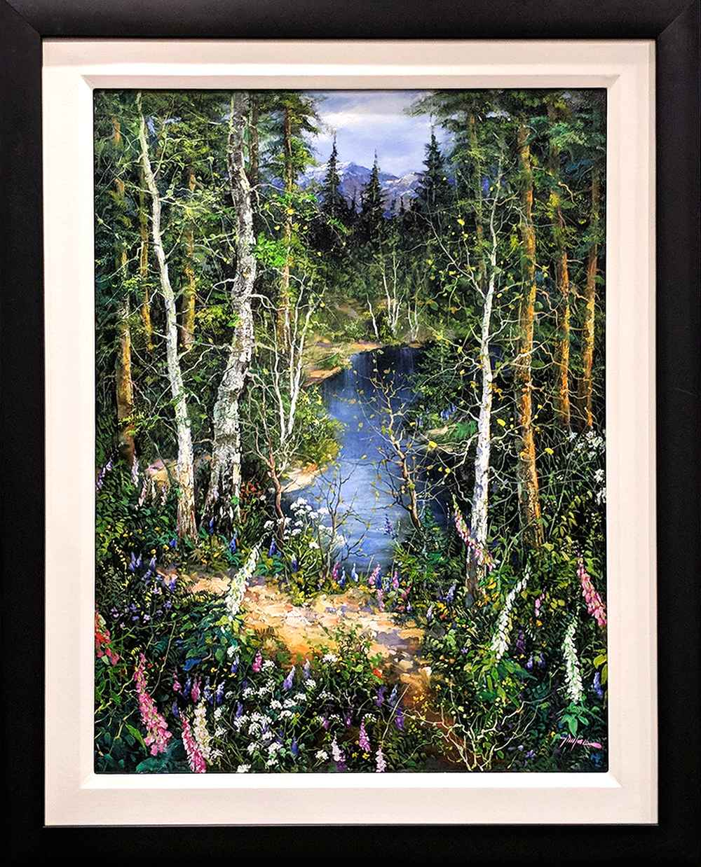 Spring Creek in Summer by  Tinyan Chan - Masterpiece Online