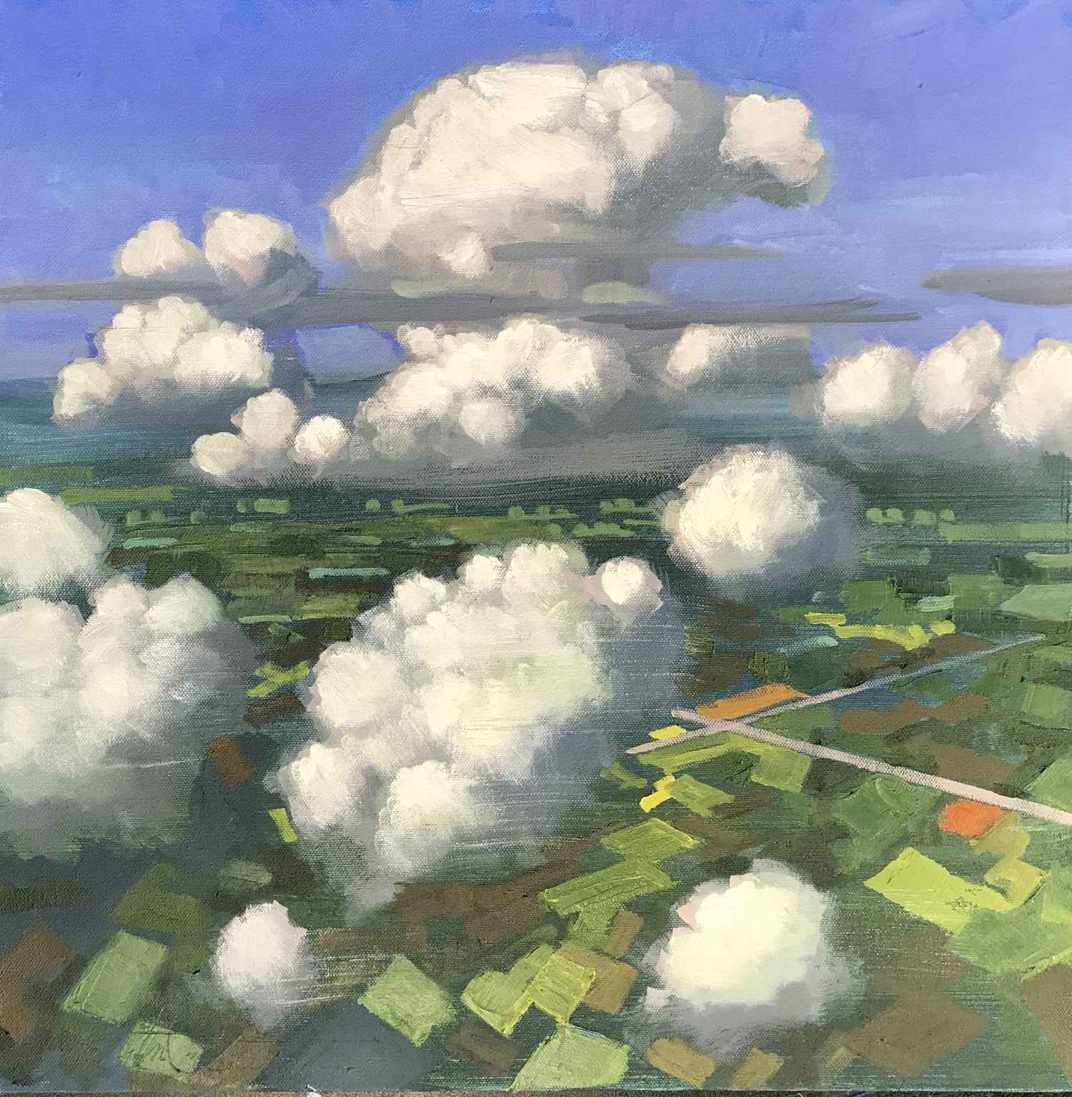 Asheville Skies I by  Christopher Peterson - Masterpiece Online