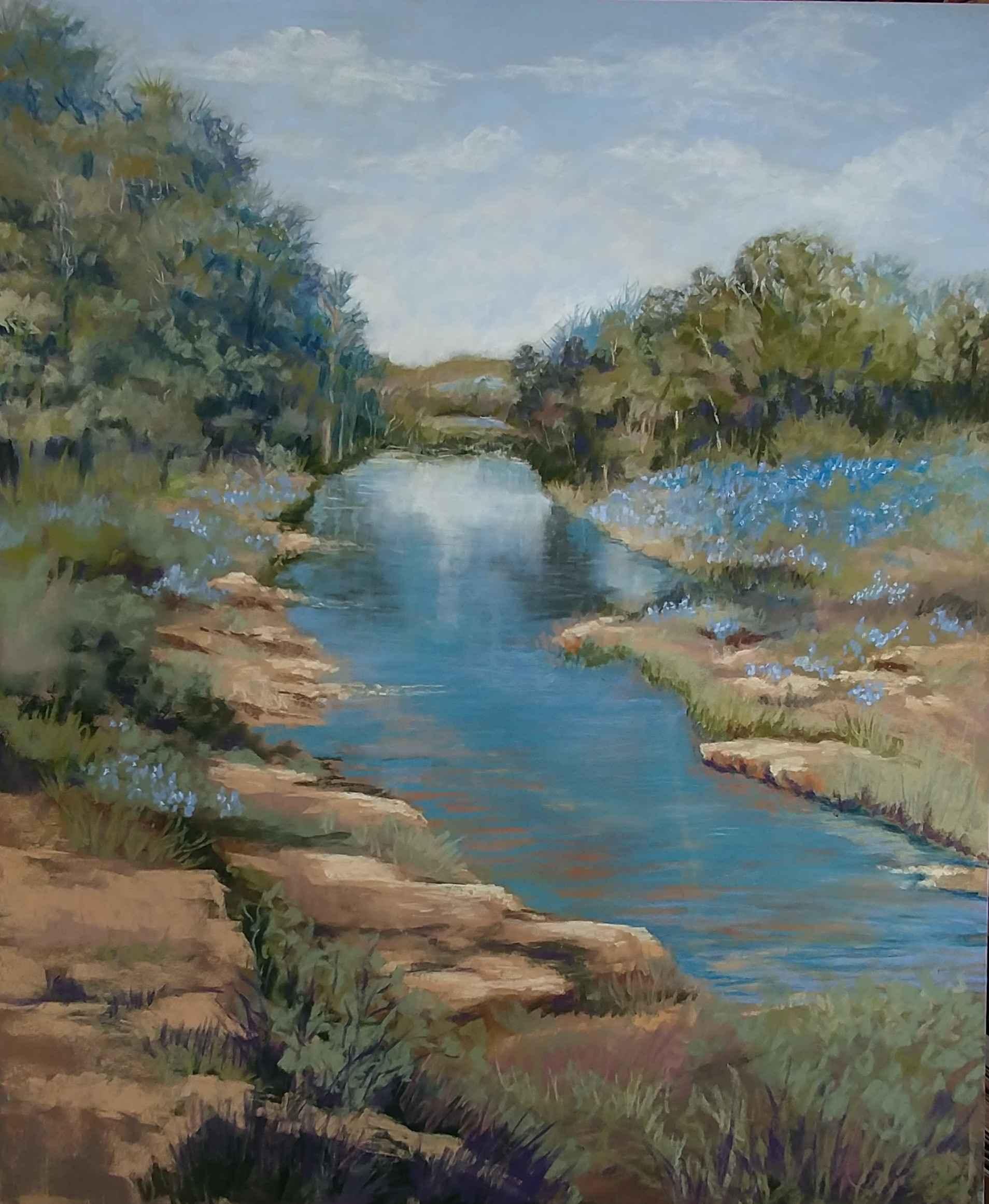 Springtime in Texas by  Maryneil Dance - Masterpiece Online