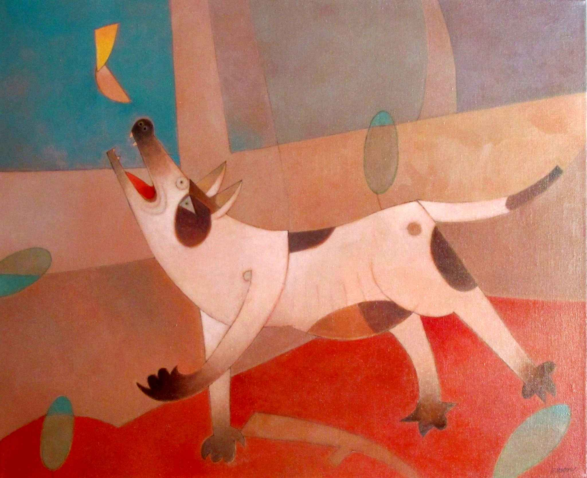 El Perro y La Luna (T... by  Francisco X. Mora - Masterpiece Online