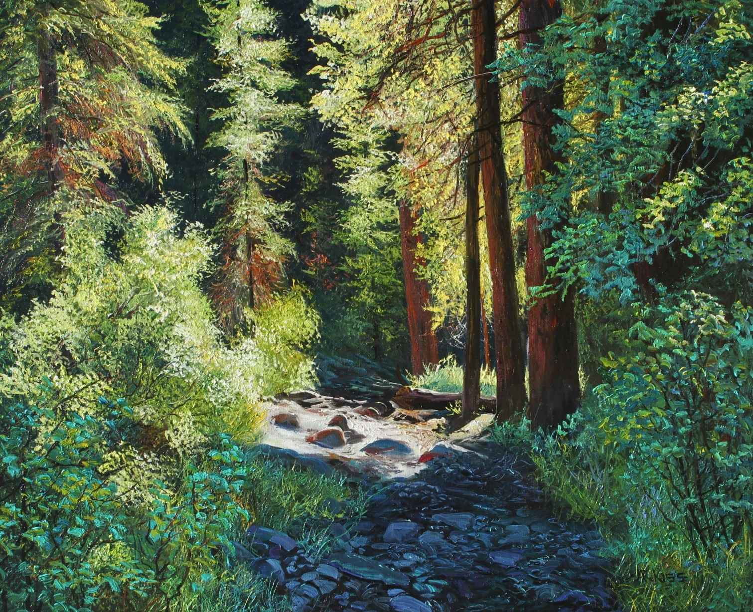 Summer Hike by  Andrew Kiss - Masterpiece Online