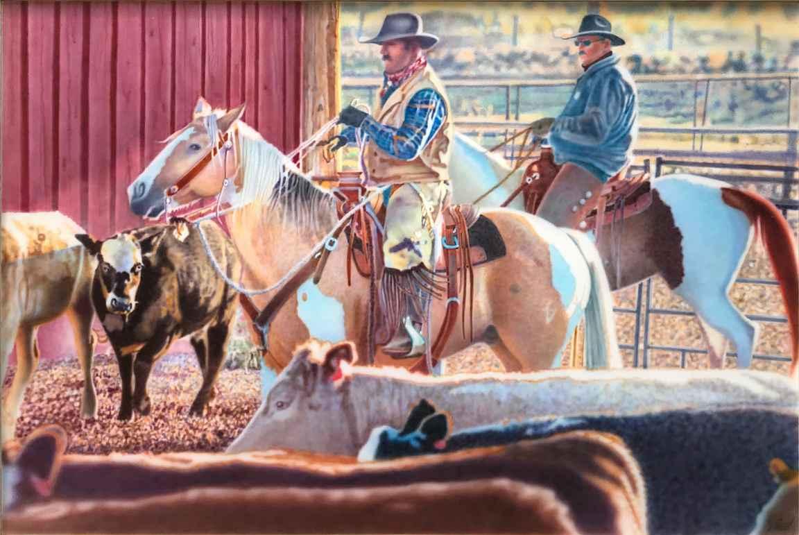 RESOR'S COWBOYS by  Don Coen - Masterpiece Online