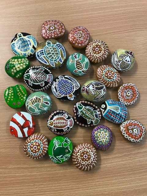 Burnie Bean Magnets by Ms Irene Bowyer - Masterpiece Online