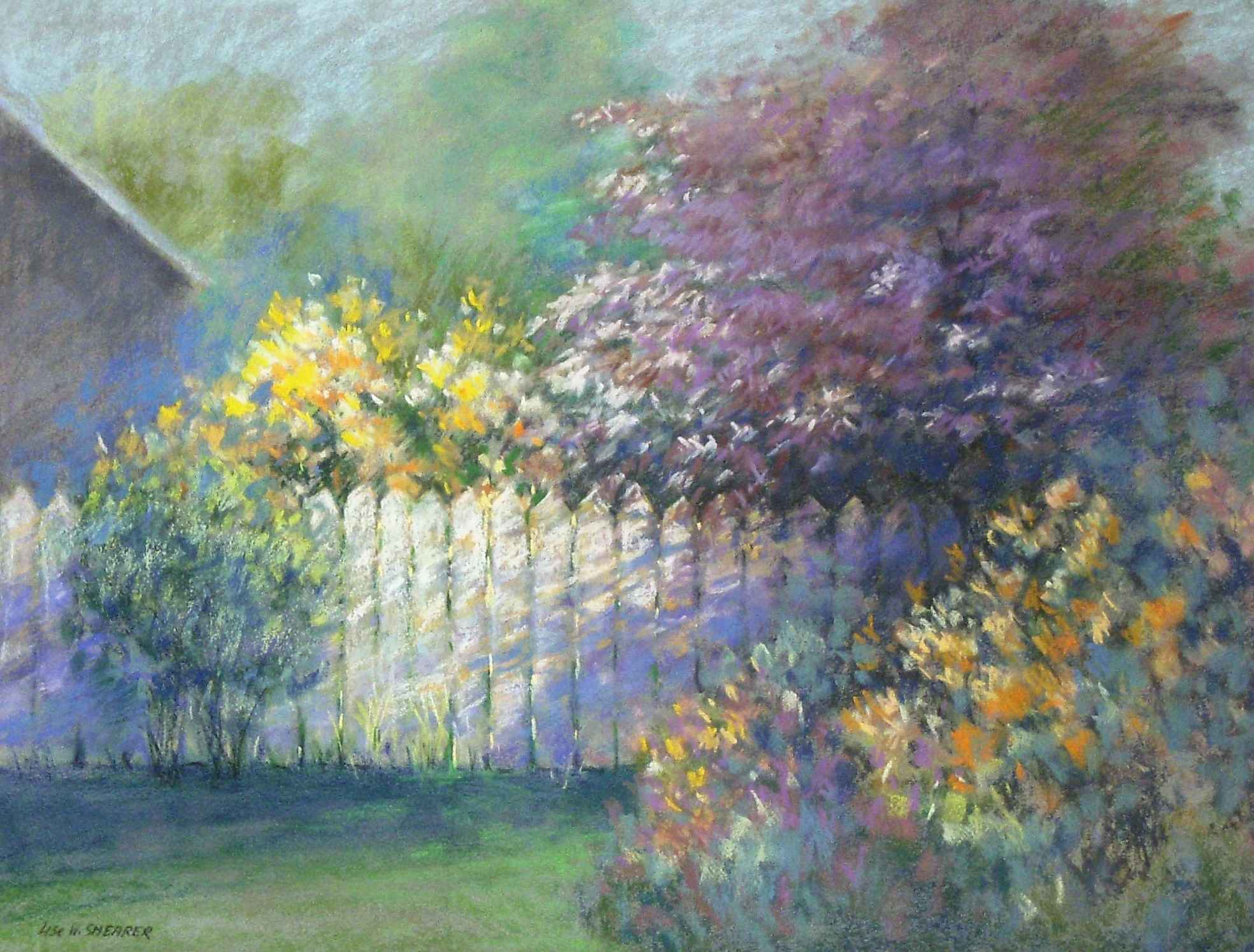 Unknown (Garden fence) by  Lise Shearer - Masterpiece Online
