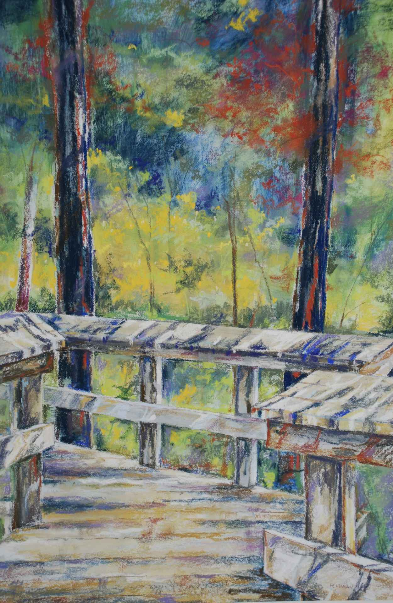 Raised Walkway by  Marilyn Feldman - Masterpiece Online