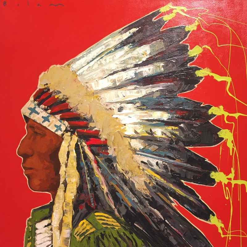 Oglala represented  by  Andrew Bolam