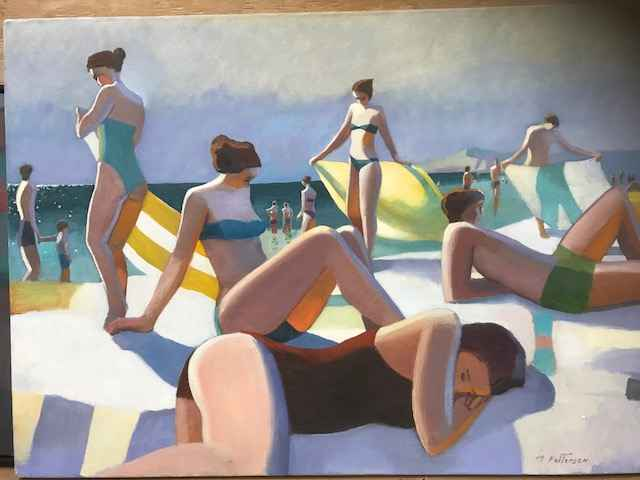 Sleeping at the Beach  by  Michael Patterson