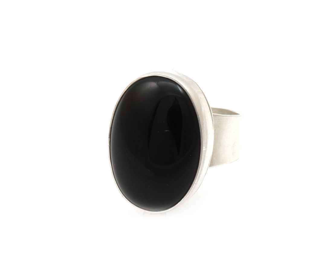 Black Onyx Ring by  Don Lucas - Masterpiece Online