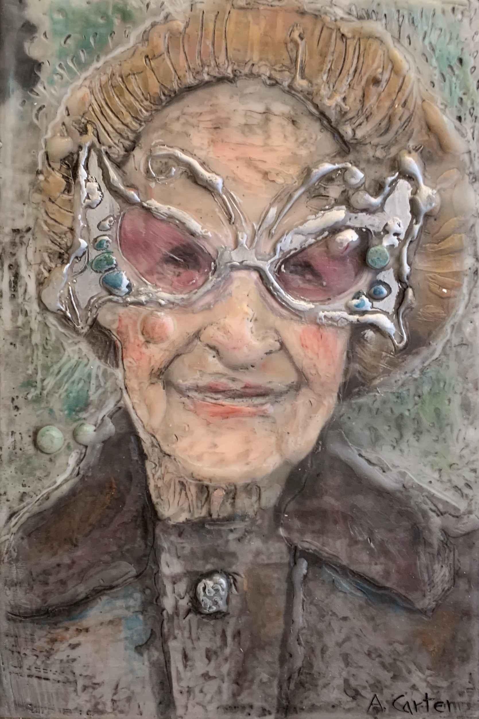 Lottie Views Life by  Ann L. Carter - Masterpiece Online