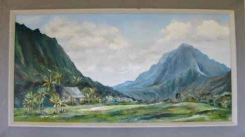 O'ahu Mountain Range by   Paine - Masterpiece Online