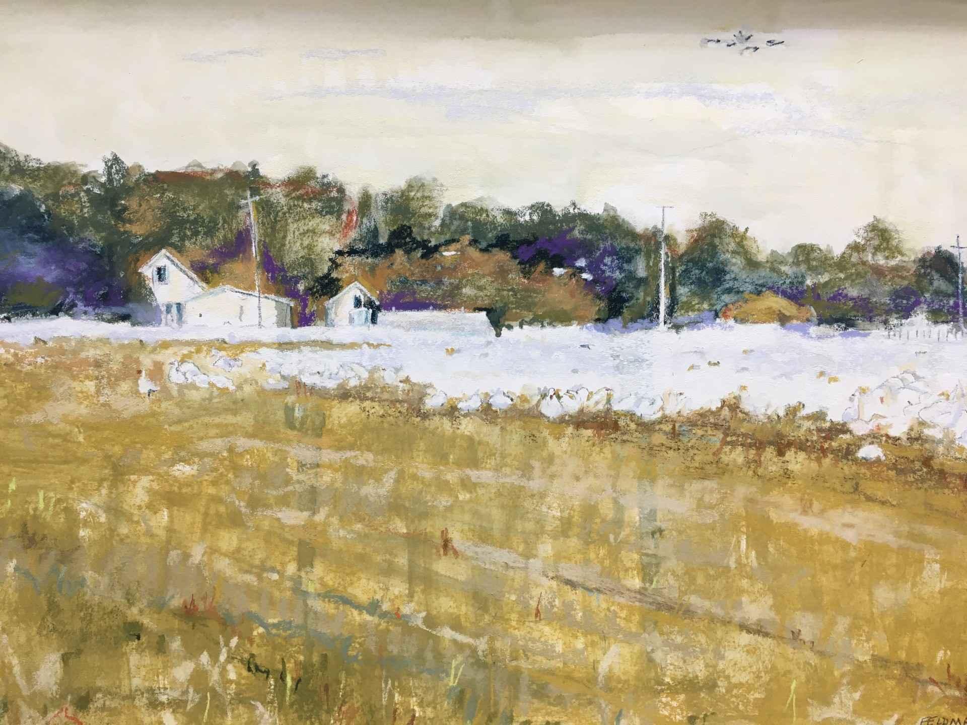 Snow Geese by  Marilyn Feldman - Masterpiece Online