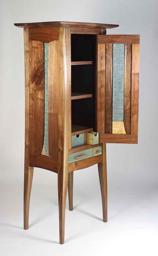 One Door Cabinet with 2 Drawers