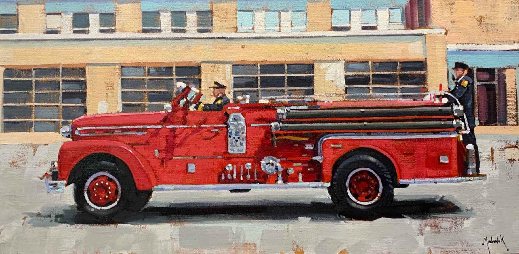 Fire Engine by Mr. Santiago Michalek - Masterpiece Online