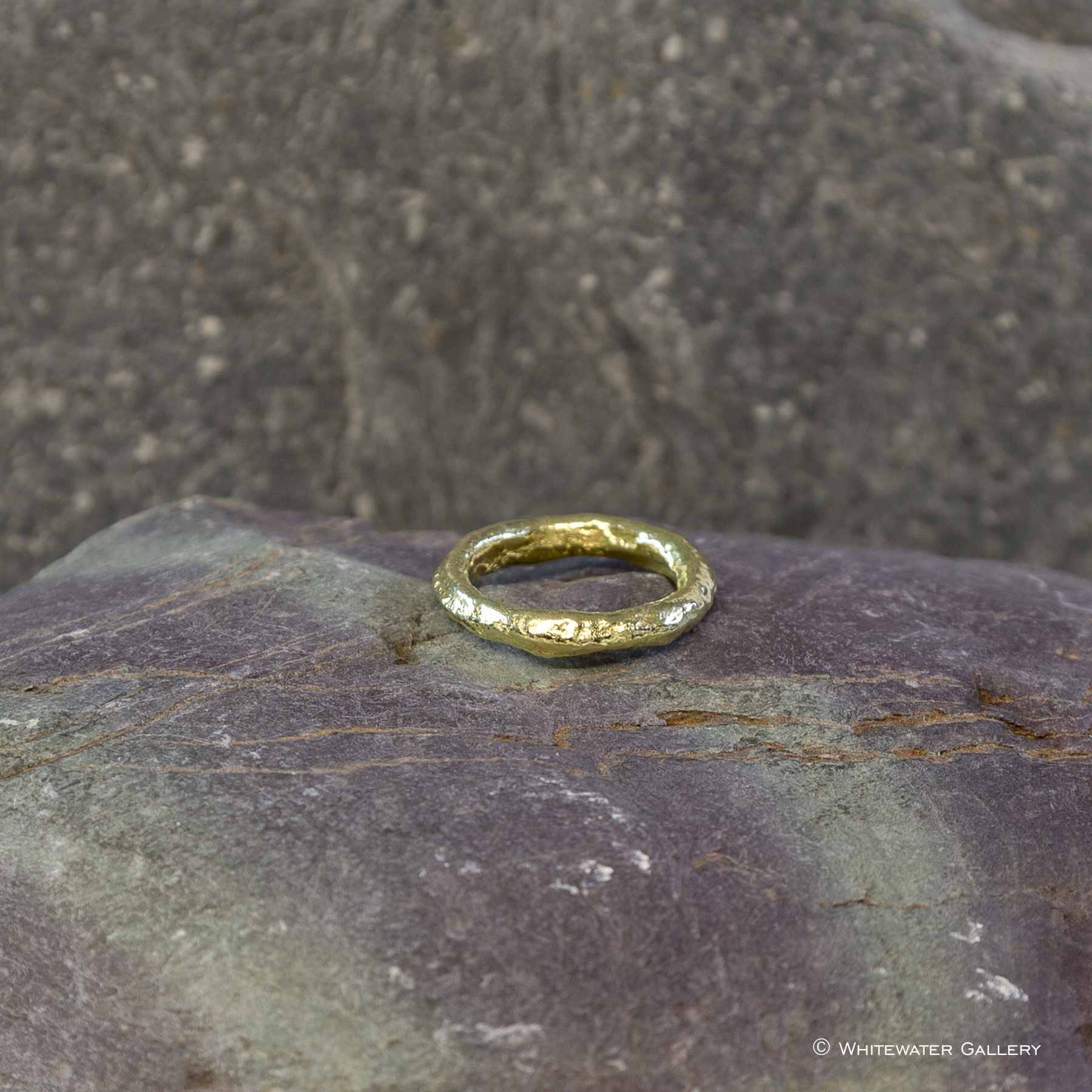 Rustic Ring 18k Gold by  Marsha Drew - Masterpiece Online