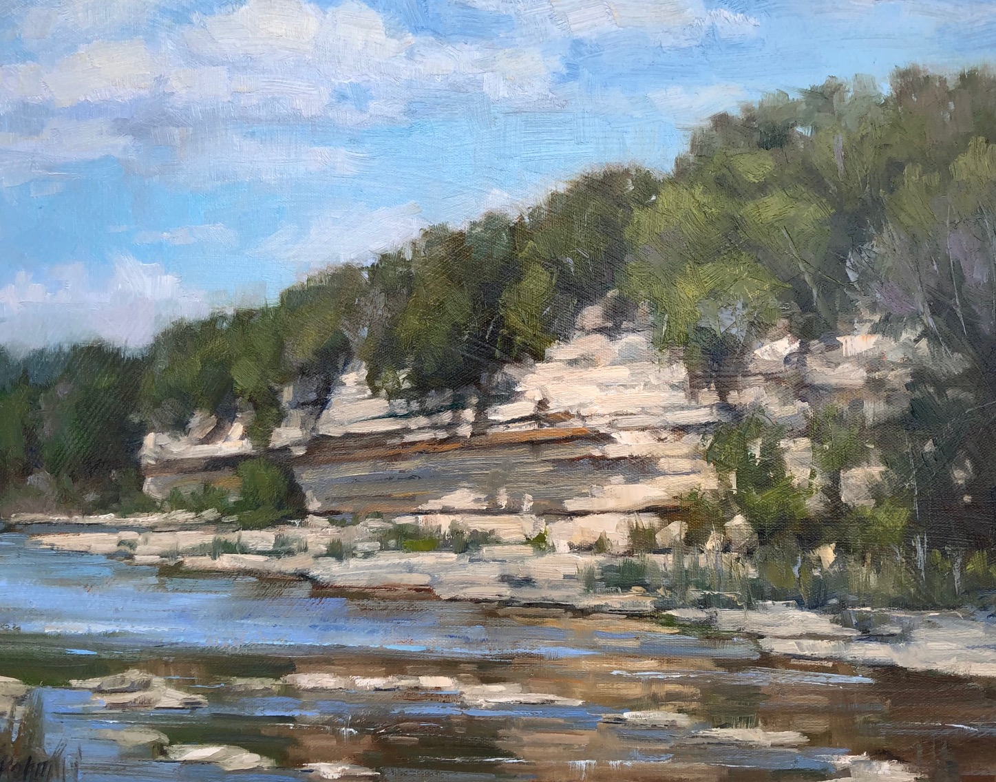Cow Creek Reflections by Mr Bob Rohm - Masterpiece Online
