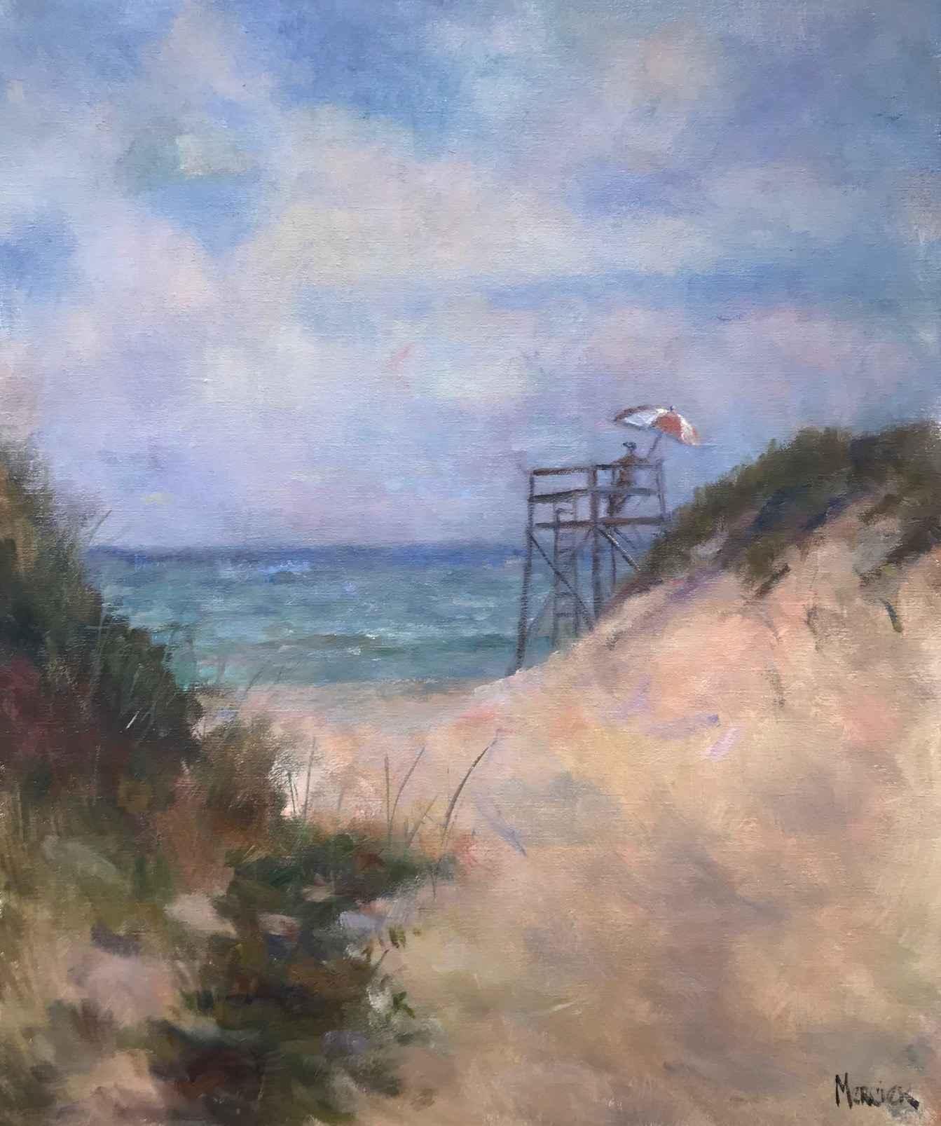 South Beach Path by  Meg Mercier - Masterpiece Online