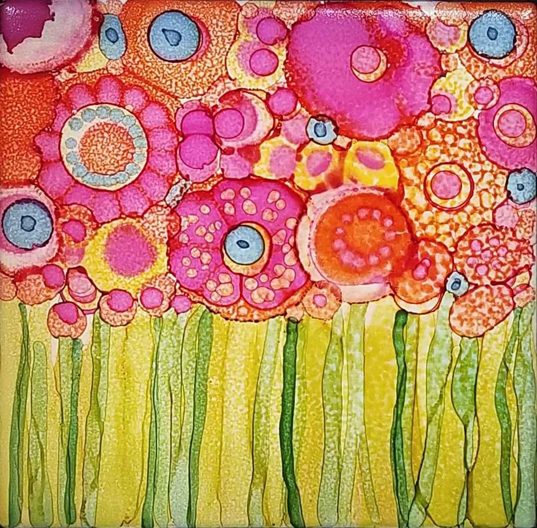Wet Garden by  Shirley Johnson - Masterpiece Online