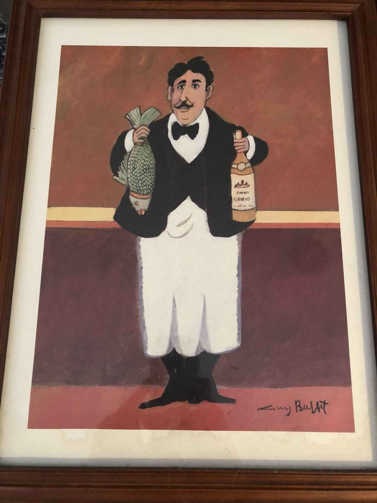 Fish and Pinot Grigio by  Guy Buffet - Masterpiece Online
