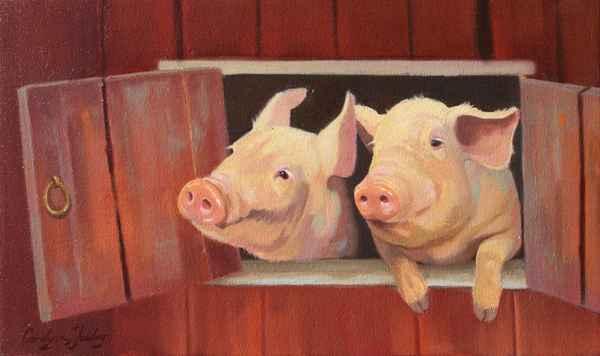 Pork n Beans by  Carolyne Hawley - Masterpiece Online