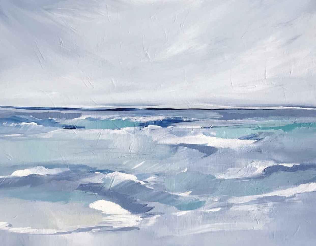 White Cap Ocean
