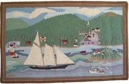 America, Northeast Ha... by  McAdoo Rugs - Masterpiece Online