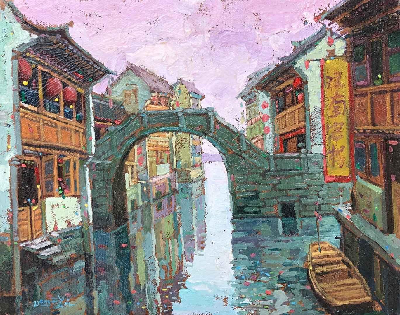Waterway by  Dongmin Lai - Masterpiece Online