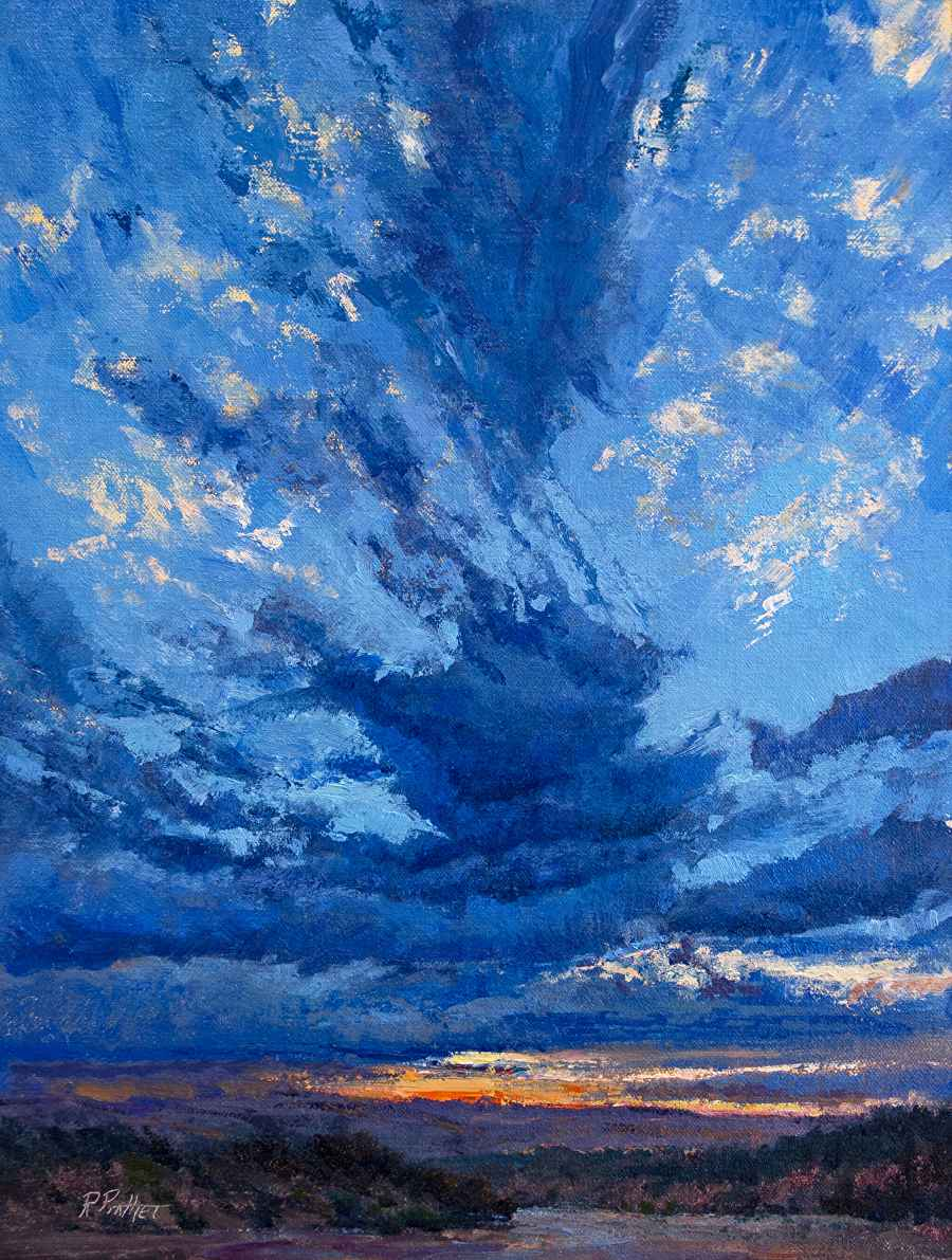 Arroyo Clouds by Mr Richard Prather - Masterpiece Online