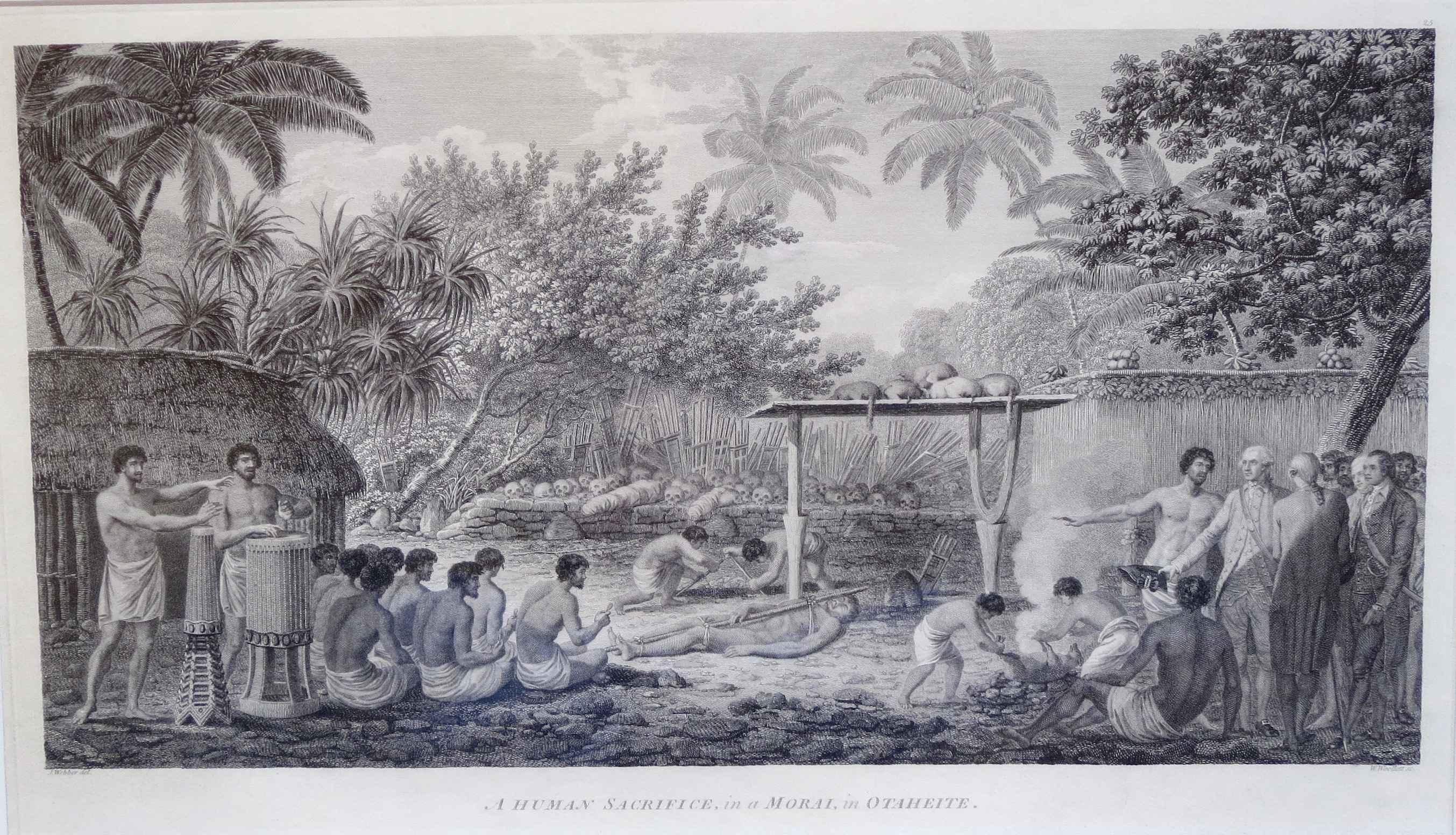 A Human Sacrifice in ... by  John Webber (1752-1793) - Masterpiece Online