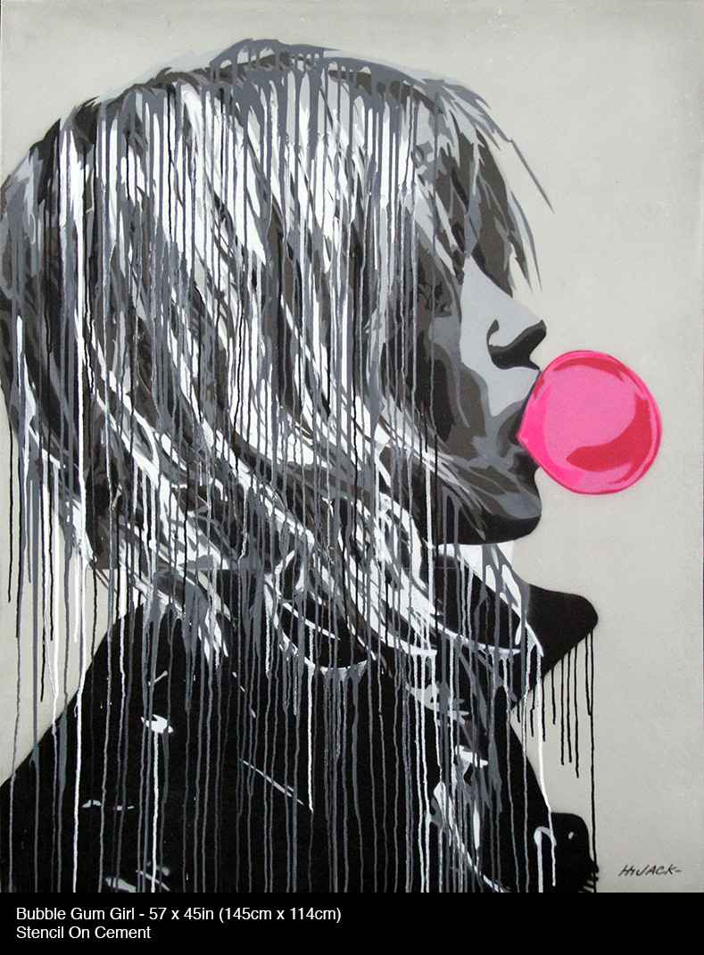 Bubble Gum Girl by  Hijack  - Masterpiece Online
