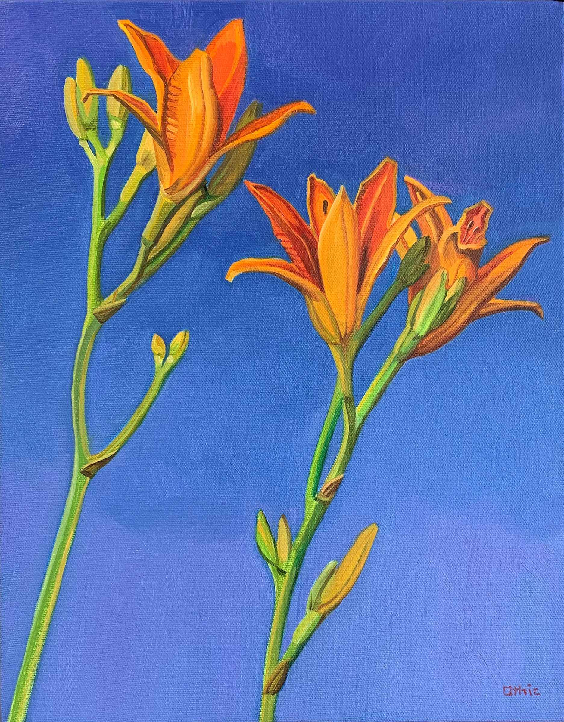 Day Lilies by  Nora Othic - Masterpiece Online