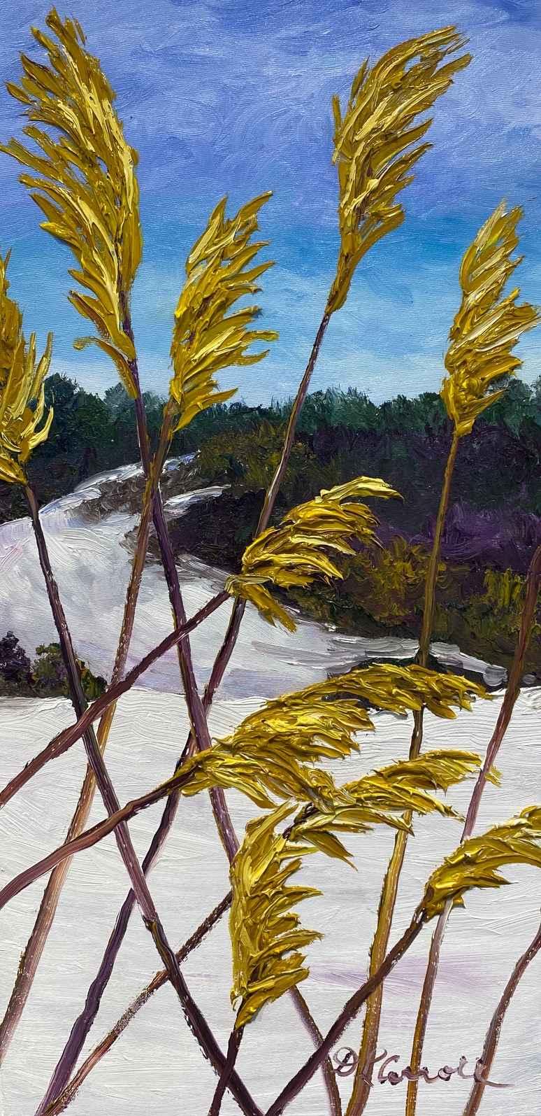 Grasses of Winter II by Ms Debra Lynn Carroll - Masterpiece Online