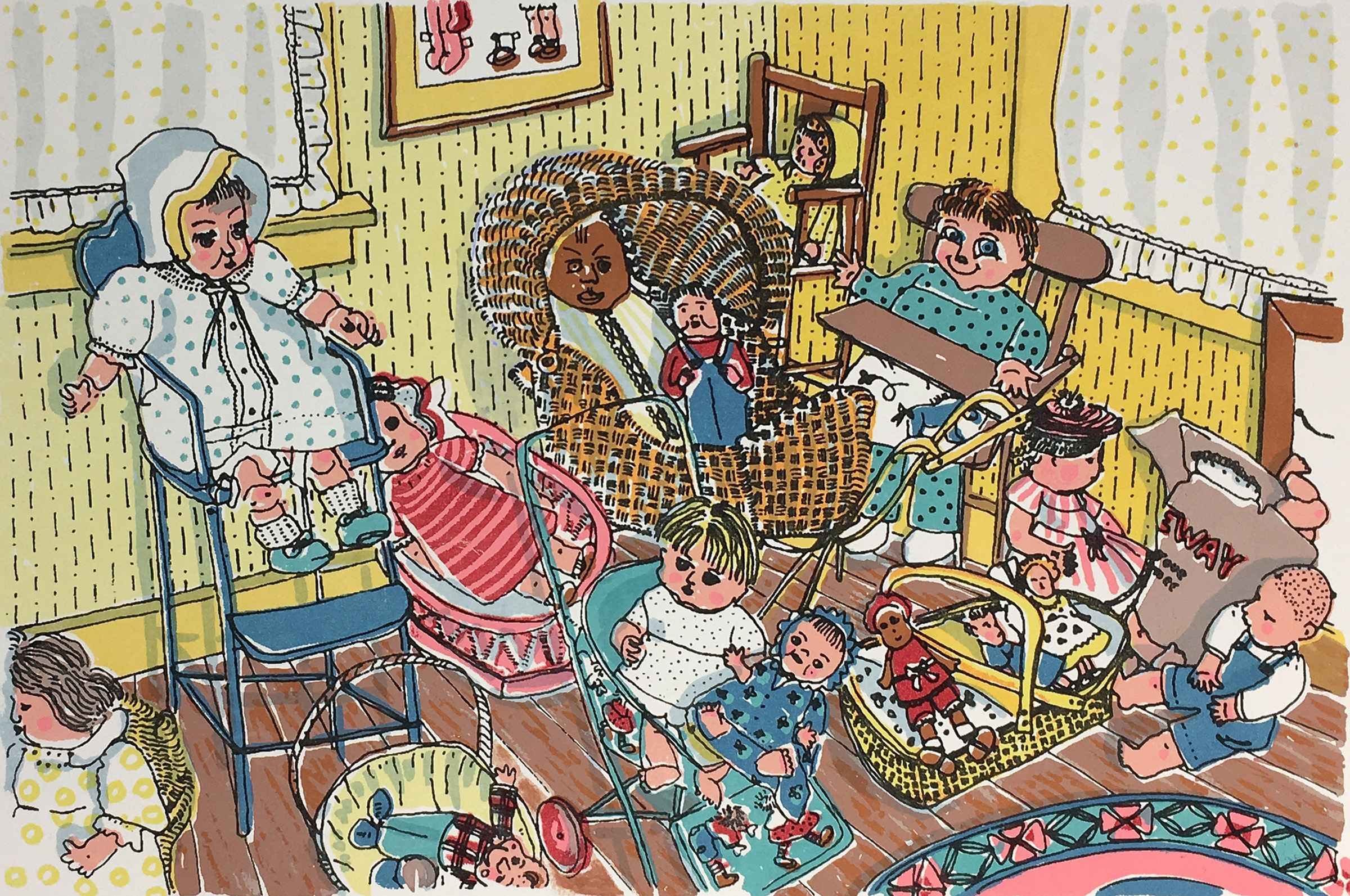 Some of Louise's Dolls by  Ann L. Carter - Masterpiece Online