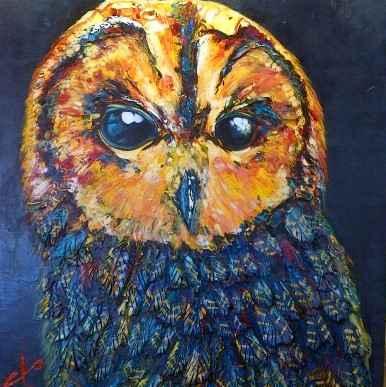 Owl - 181728 by  Brian Porter - Masterpiece Online