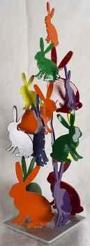 Untitled Sculpture  by  Hunt Slonem