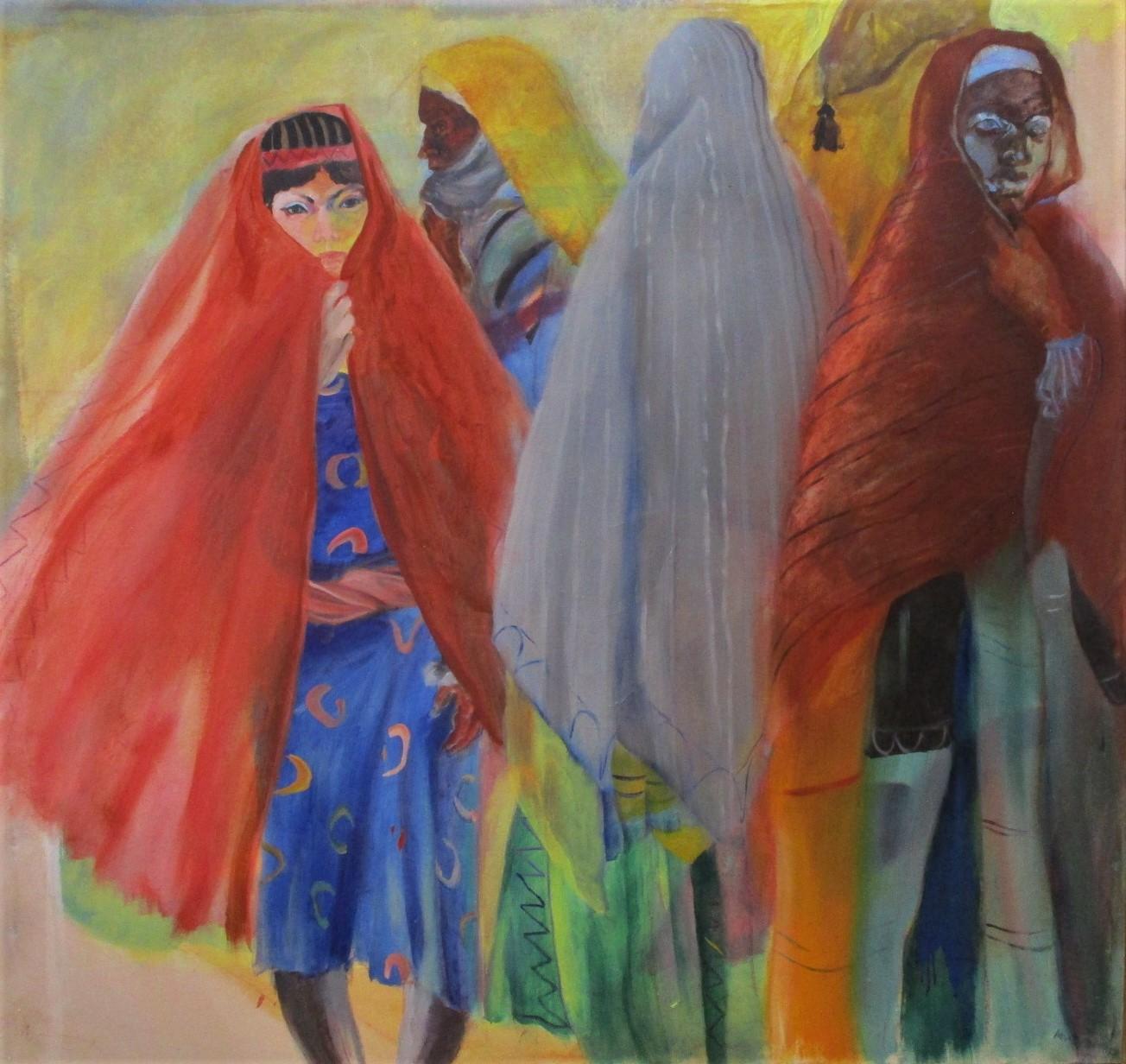 Untitled (4 Women at ... by  Arvie Smith - Masterpiece Online