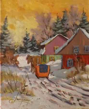 Douce journee 23726 by  Claude Langevin - Masterpiece Online