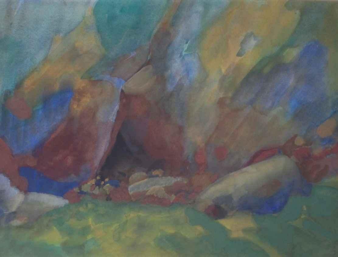 Unknown (colorful lan... by  Hank Kowert - Masterpiece Online