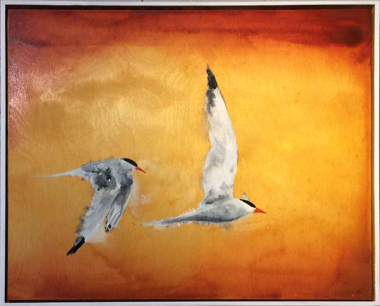 Two Terns by  Colin Ruel - Masterpiece Online