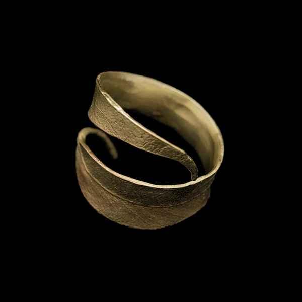 Eucalyptus Napkin Rings, Antique Bronze