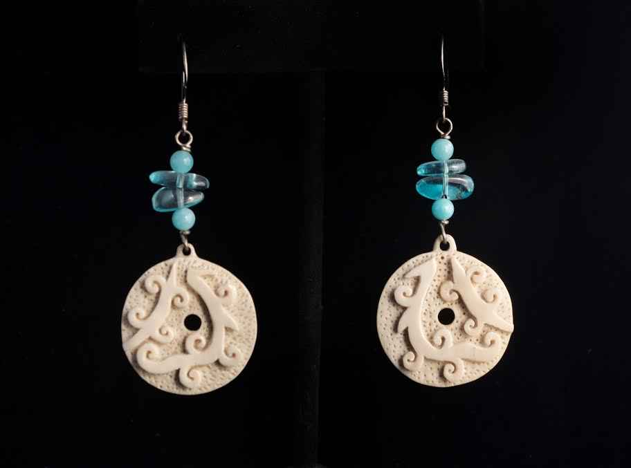 Tribal Magic Earrings by  Susan Tereba - Masterpiece Online