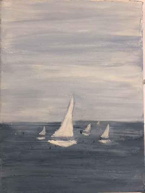 5 Boats by  Steve Lyons - Masterpiece Online